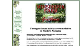 mimsbrook farm website design